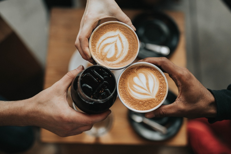 Three cups of different coffees - Photo by Nathan Dumlao (https://unsplash.com/@nate_dumlao)