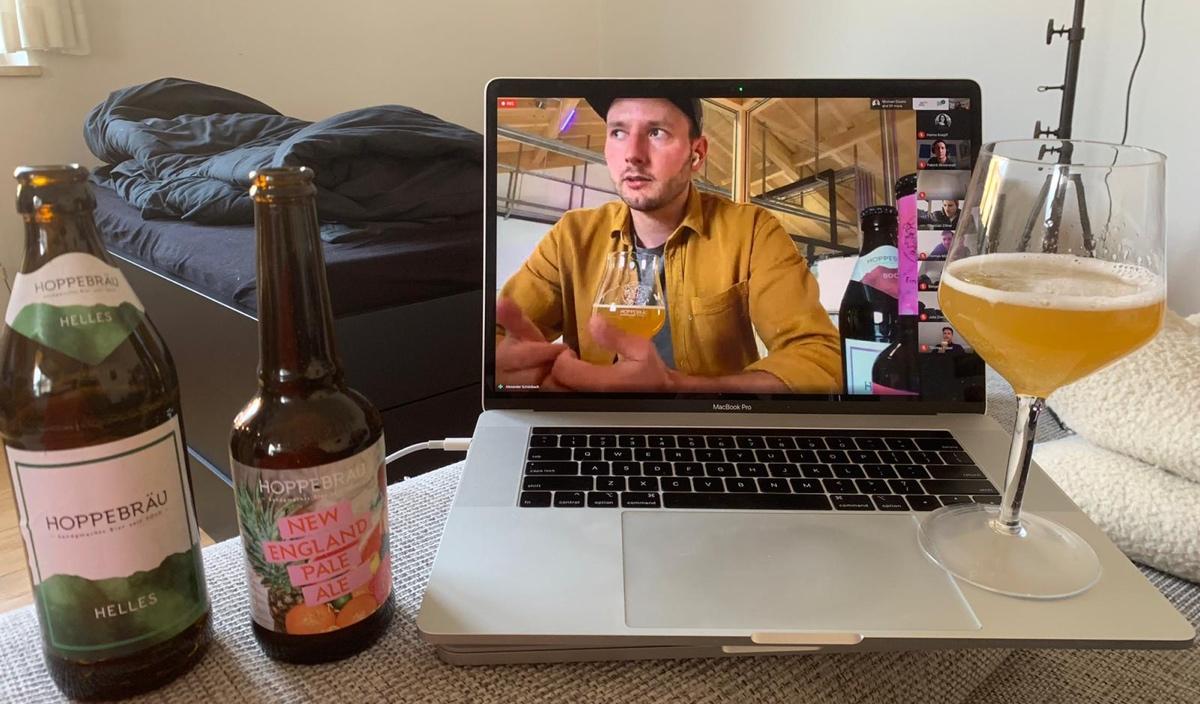 Remote beer tasting