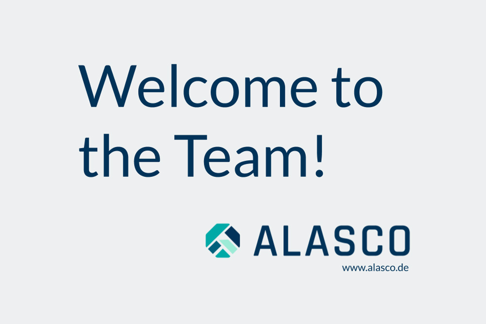 Welcome to the Alasco Team